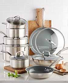 Culinary Science by Martha Stewart Collection 14-Pc. Cookware Set, Created for Macy's