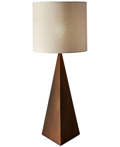 Adesso Cairo Tall Bronze Table Lamp