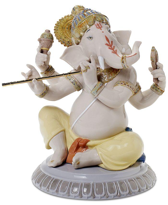 Lladró - Bansuri Ganesha Figurine