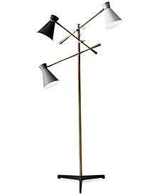 Adesso Lyle 3-Arm Floor Lamp