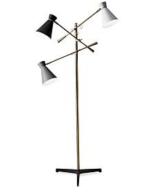 Adesso Lyle 3-Arm Floor Lamp