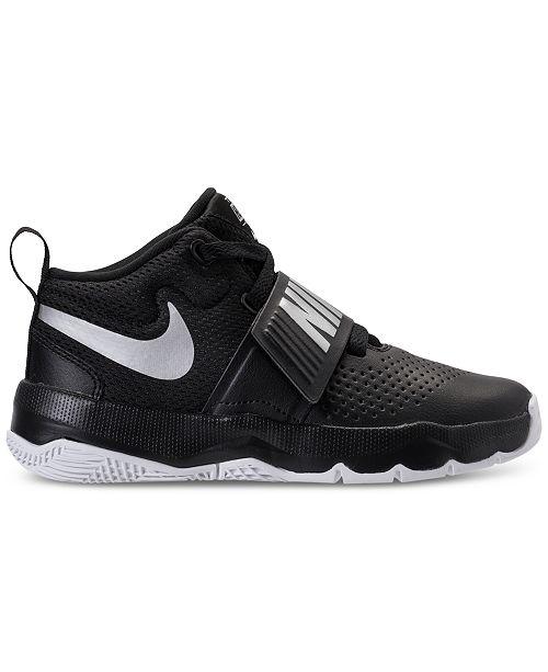 e744095927d71 ... Nike Little Boys' Team Hustle D8 Basketball Sneakers from Finish Line  ...