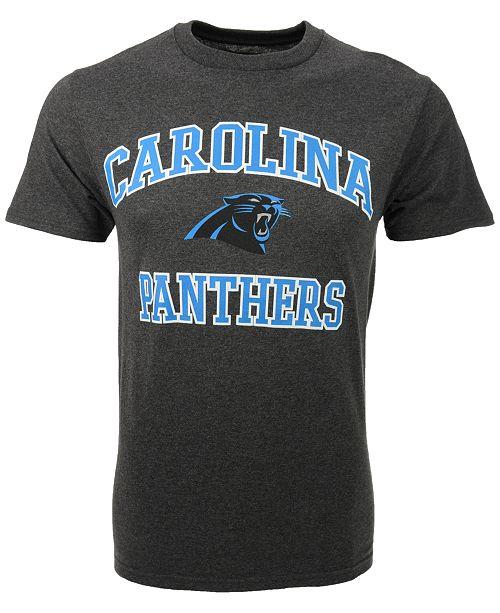 1173d307 Majestic Men's Carolina Panthers Heart and Soul T-Shirt - Sports Fan ...
