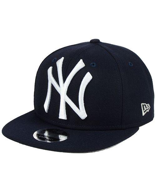 31a622635 New Era New York Yankees Logo Grand 9FIFTY Snapback Cap & Reviews ...
