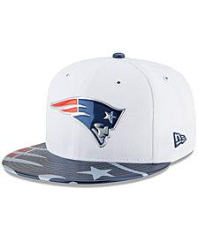 New Era Boys' New England Patriots 2017 Draft 59FIFTY Cap
