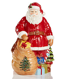Spode Figural Santa Cookie Jar