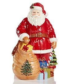 Spode Figural Santa Cookie Jar