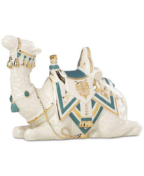 Lenox First Blessing Nativity Lying Camel Figurine