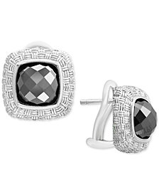 EFFY® Hematite (8mm) Stud Earrings in Sterling Silver