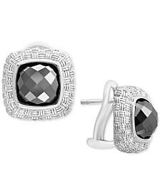 EFFY® Hematite (8mm) Stud Earrings in Sterling Silver