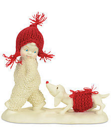Department 56 Snowbabies Trailing Behind Collectible Figurine