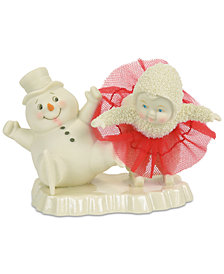 Department 56 Snowbabies Skating Lessons Collectible Figurine