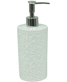 Jessica Simpson Bonito White Lotion Dispenser