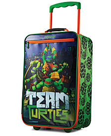 "Ninja Turtles 18"" Softside Rolling Suitcase By American Tourister"