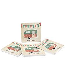 Thirstystone Happy Camper 4-Pc. Coasters Set