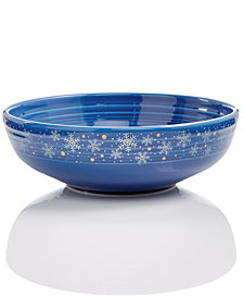 Fiesta Snowflake Bistro Large Individual Serve Bowl, Created for Macy's