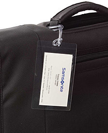 Samsonite Laminating ID Tag