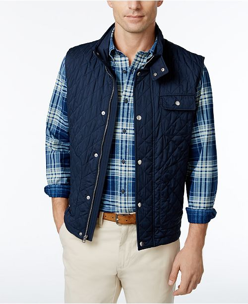 7189aea23a6 Brooks Brothers Men S Diamond Quilted Vest Coats Jackets