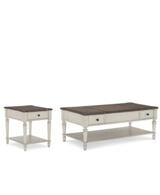 Barclay Table Furniture Set, 2-Pc. Set (Coffee Table & End Table)