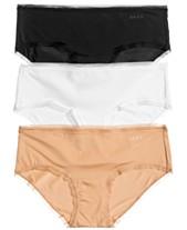 00d876b51 DKNY Litewear 3-Pk. Mesh-Trim Hipster DK5093