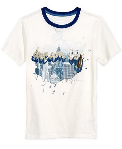 Sean John Graphic-Print T-Shirt, Big Boys