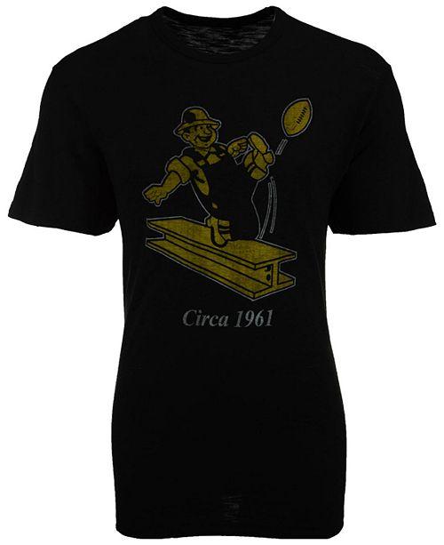 8ae43325d 47 Brand Men s Pittsburgh Steelers Logo Scrum T-Shirt - Sports Fan ...