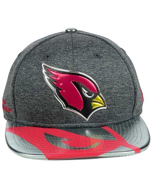 New Era Arizona Cardinals 2017 Draft 9FIFTY Snapback Cap - Sports ... 1c33824007f6