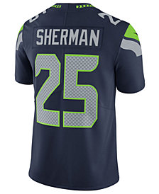 Nike Men's Richard Sherman Seattle Seahawks Vapor Untouchable Limited Jersey