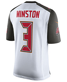 Nike Men's Jameis Winston Tampa Bay Buccaneers Vapor Untouchable Limited Jersey