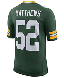 Nike Men's Clay Matthews III Green Bay Packers Vapor Untouchable Limited Jersey