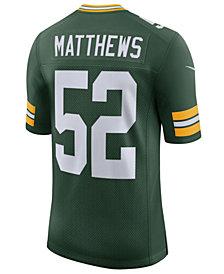 Nike Men's Clay Matthews III Green Bay Packers Vapor Untouchable Limited Jersey