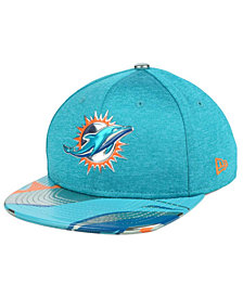 New Era Boys' Miami Dolphins 2017 Draft 9FIFTY Snapback Cap