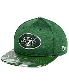 New Era Boys' New York Jets 2017 Draft 9FIFTY Snapback Cap