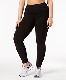 Plus Size Stretch Full-length Leggings, Created for Macy's