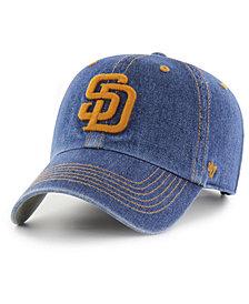 '47 Brand San Diego Padres All Denim CLEAN UP Cap