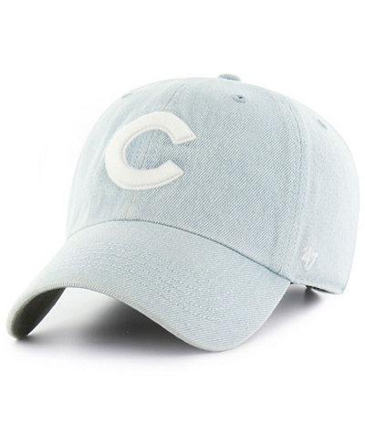 '47 Brand Chicago Cubs All Denim Clean Up Cap