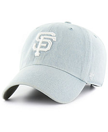 '47 Brand San Francisco Giants All Denim Clean Up Cap