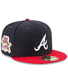New Era Atlanta Braves Ultimate Patch Collection Game 59FIFTY Fitted Cap