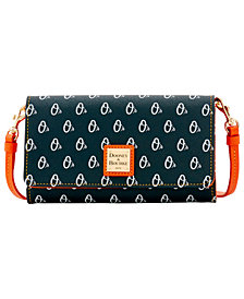 Dooney & Bourke Baltimore Orioles Daphne Crossbody Wallet