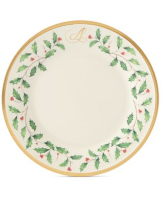 Holiday Personalized Salad Plate