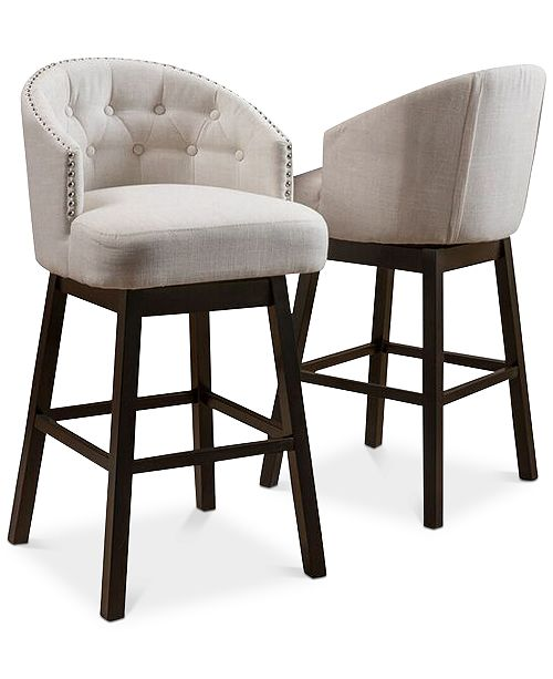 Surprising Noble House Pantan Bar Stools Set Of 2 Quick Ship Gmtry Best Dining Table And Chair Ideas Images Gmtryco