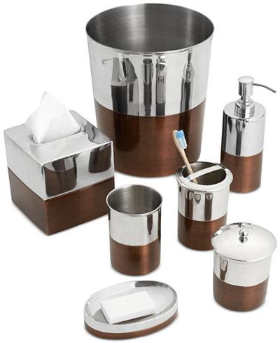 paradigm empire silver bath accessories collection