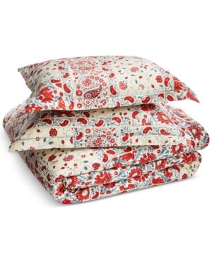Lauren Ralph Lauren Kelsey Textured 3Pc King Comforter Set Bedding