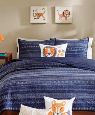 Oliver  4-Pc. Quilted Full/Queen Coverlet Set