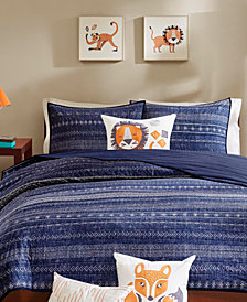 INK+IVY Kids Oliver  4-Pc. Quilted Full/Queen Coverlet Set