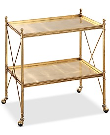 Amaranto Serving Cart, Quick Ship