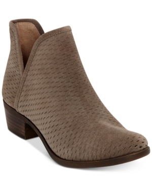 Lucky Brand Baley Perforated...