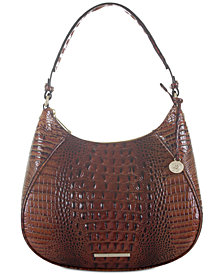 Brahmin Amira Melbourne Embossed Leather Hobo
