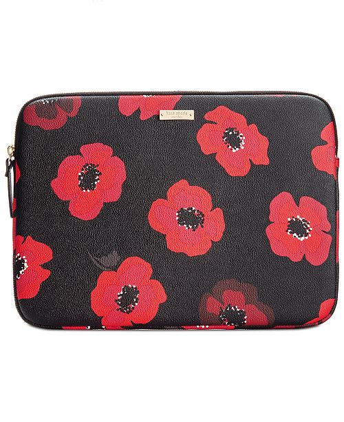 new product da535 33e87 kate spade new york 13-Inch Poppy Laptop Sleeve & Reviews ...