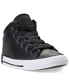 Converse Little Boys' Chuck Taylor All Star Official Mid Casual Sneakers from Finish Line